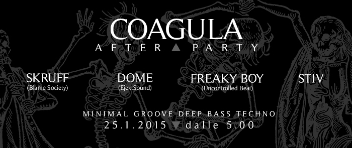 COAGULA III – After party