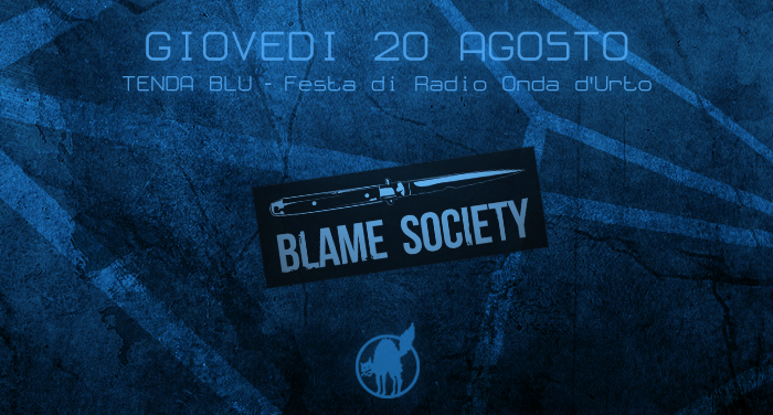 BLAME SOCIETY @TENDABLU 2015