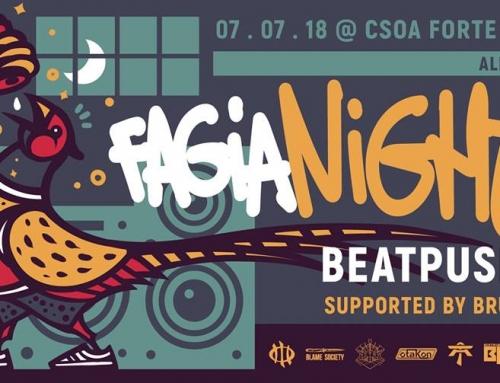 FaGiaNight 2018 – 7 Luglio 2018 – CSOA Forte Guercio